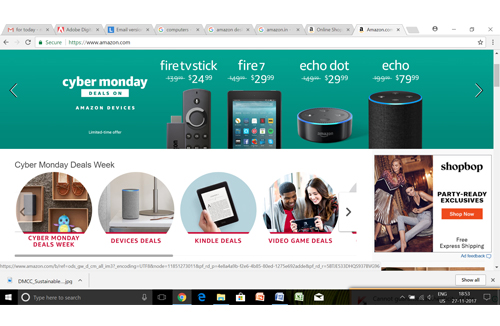 Record Online Sales on Black Friday of US$ 5 03 Bn Says